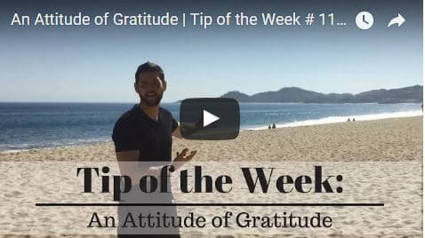 Chiropractic Seattle WA Tip of the Week - Attitude of Gratitude