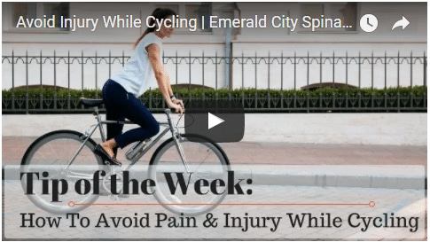 Chiropractic Seattle WA Tip of the Week - Biking