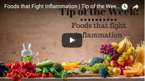 Chiropractic Seattle WA Tip of the Week - Foods that Fight Inflammation