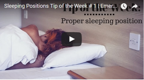 Chiropractic Seattle WA Tip of the Week - Sleeping Positions