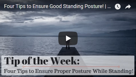 Chiropractic Seattle WA Tip of the Week - Standing Posture