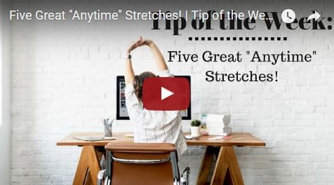 Chiropractic Seattle WA Tip of the Week - Stretches