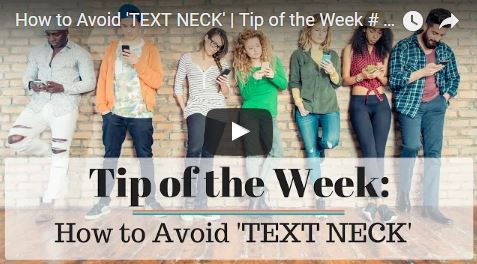Chiropractic Seattle WA Tip of the Week - Text Neck
