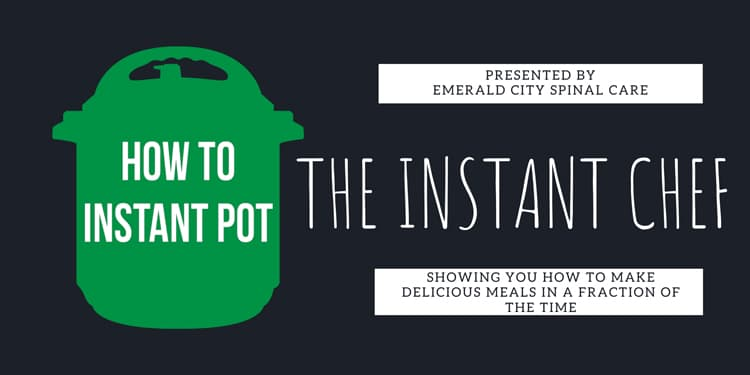 The Instant Chef Event at Emerald City Spinal Care